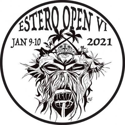 Sun King/EDGC present The Estero Open VI logo