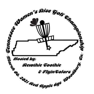 Tennessee Women's Disc Golf Championship logo