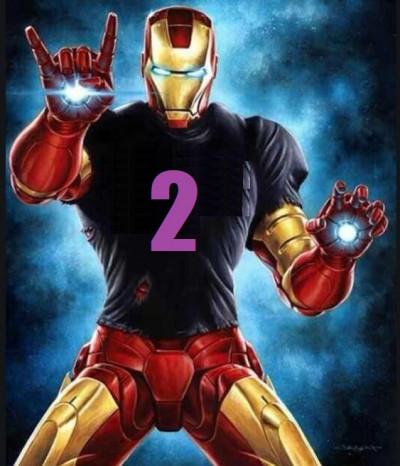 2020 Floral Park Iron Man logo