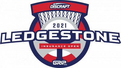 2021 Discraft Ledgestone Insurance Open presented by GRIPeq logo