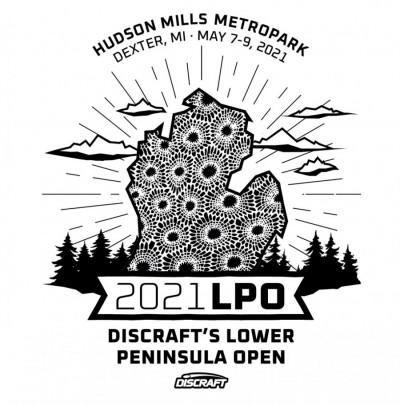 Discraft's Lower Peninsula Open logo