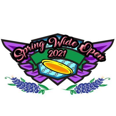 Lone Star Disc Presents: Spring Wide Open  - a GDG $5K/$10K event logo