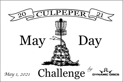Culpeper Mayday Challenge by Dynamic Discs (GDG $5K/$10K Event) logo
