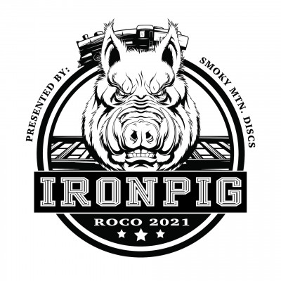 The Iron Pig 2021 - Presented by Smoky Mountain Discs logo