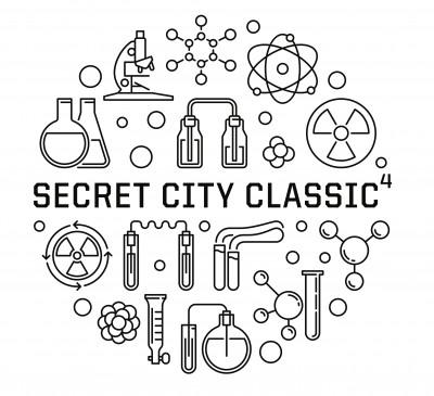 Secret City Classic⁴ - Presented by Smoky Mountain Discs - Day 2 - MA50, MA60, FA2, MA3, FA3, MA4, FA4 logo