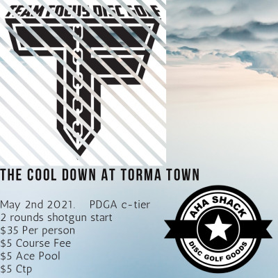 The Cool Down At Torma Town logo