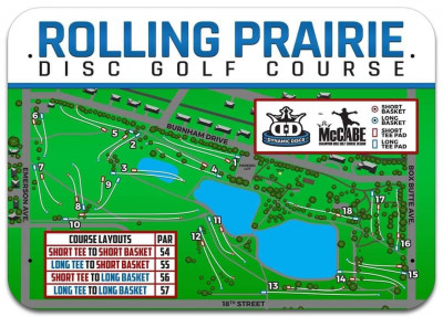 The Dave Kimmel Memorial Disc Golf Tournament 2021 logo