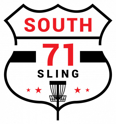 South 71 Sling presented by Innova Champion Discs logo