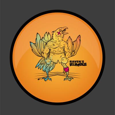 The Raven's RUMBLE logo