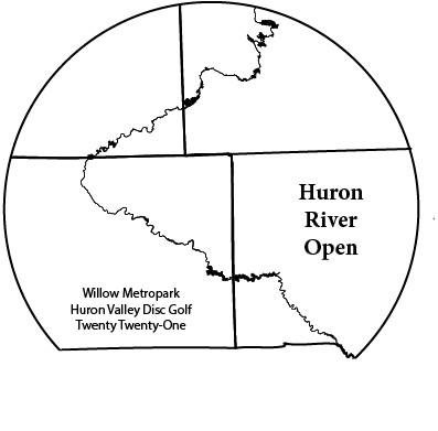 Huron River Open logo
