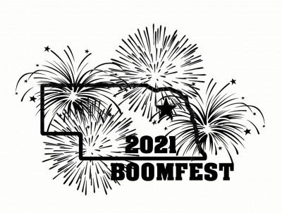 Boomfest TAHA Glow Tournament logo