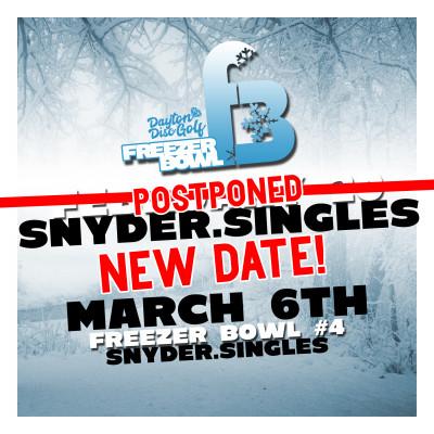 Dayton Disc Golf presents Freezer Bowl #4 Singles logo