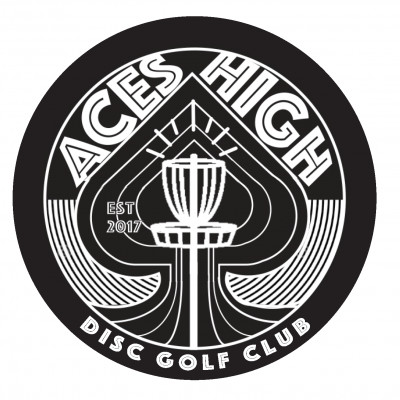 ACES HIGH CLUB BAG TAG EVENT logo