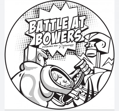 The Battle at Bowers - Powered by Prodigy Disc logo