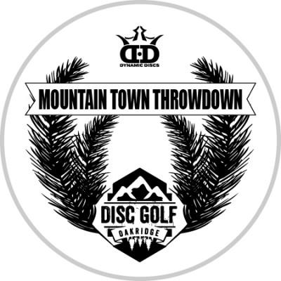 Mountain Town Throwdown sponsored by Dynamic Discs logo