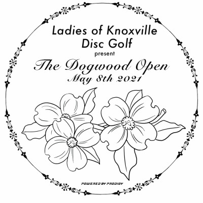 WGE - The Ladies Of Knoxville Disc Golf Present The Dogwood Open 2021 Presented By Prodigy logo
