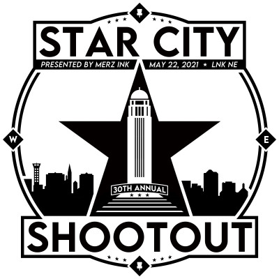 30th Annual Star City Shootout Presented by Merz Ink logo