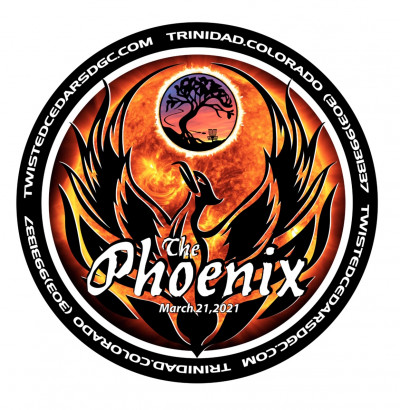 The Phoenix at Twisted Cedars DGC logo