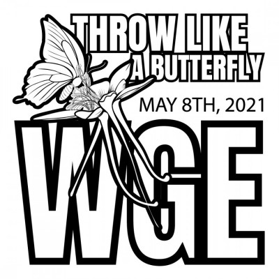 WGE Throw Like A Butterfly logo