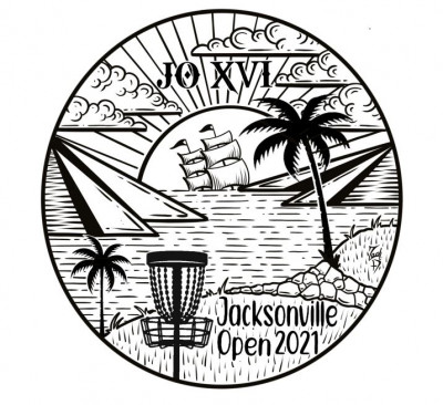 2021 Jacksonville Open sponsored by Dynamic Discs - AM Weekend logo
