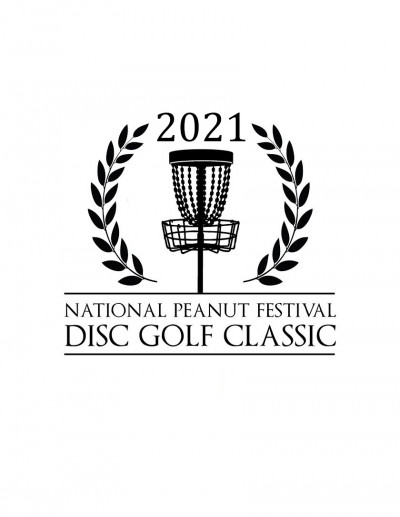 2021 National Peanut Festival Disc Golf Classic Sponsored by Dynamic Discs Iron City and Visit Dothan logo