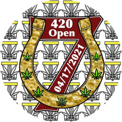 The 420 Open #7 at Deep Creek Driven by Dynamic Disc & hosted by Joe Stewart logo