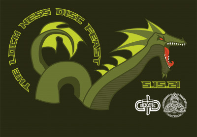 The Loch Ness Disc Feast Presented by Discin' Disciples and Trinity Disc Golf logo
