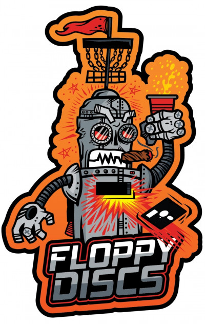 Floppy Discs 4 Disc BYOP Challange logo