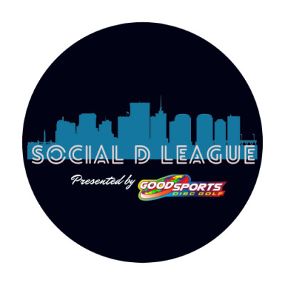 Social D Spring League Presented by Good Sports Disc Golf logo
