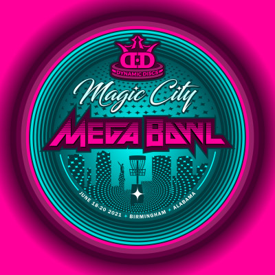 The Magic City Mega Bowl presented by Dynamic Discs logo