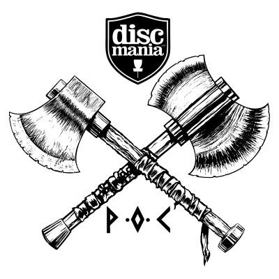 2021 Peak One Championships sponsored by Discmania logo