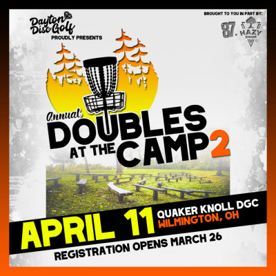 Annual Doubles At The Camp 2 logo
