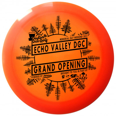 Echo Valley Grand Opening Pay to Play logo