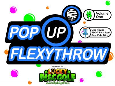 Pop Up FlexyThrow logo