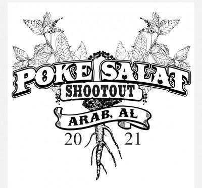 Poke Salat Shootout sponsored by Dynamic Discs logo