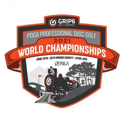 2021 PDGA Professional Disc Golf World Championships logo