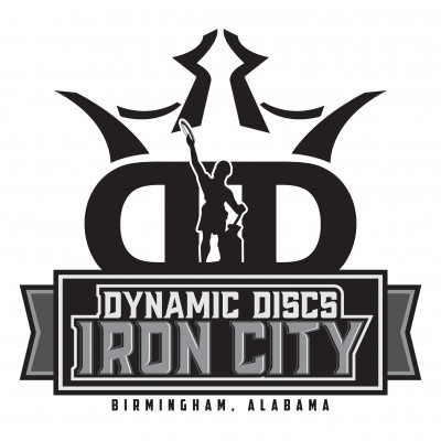 IronThrown Disc Golf Tour- Presented by DD Iron City - Event 2 logo