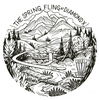 Top Tier Disc Golf presents The Spring Fling at Diamond X driven by Innova (Amateur Day) logo