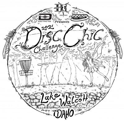 2021 Disc Chic Challenge logo