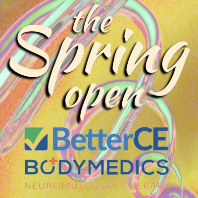 The Spring Open presented by BetterCE and BodyMedics logo