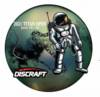 Titan Open 2021 Presented by Discraft logo