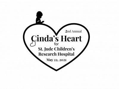 2nd Annual Cinda's Heart for St. Jude logo