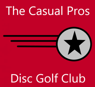 The Casual Pros 3 Disc Challenge logo