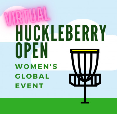 VIRTUAL Huckleberry Open logo