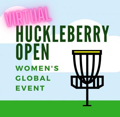 VIRTUAL Huckleberry Open logo