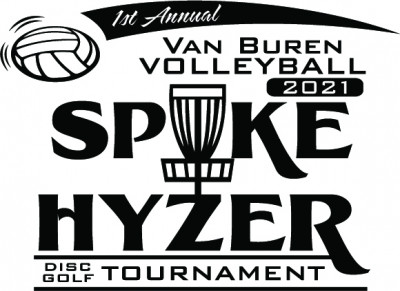 Spike Hyzer - Van Buren Volleyball Tournament logo