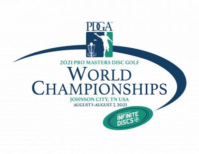 2021 PDGA Pro Masters Disc Golf World Championships logo
