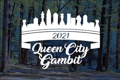 The Queen City Gambit Sponsored by Dynamic Discs and Innova Disc Golf logo