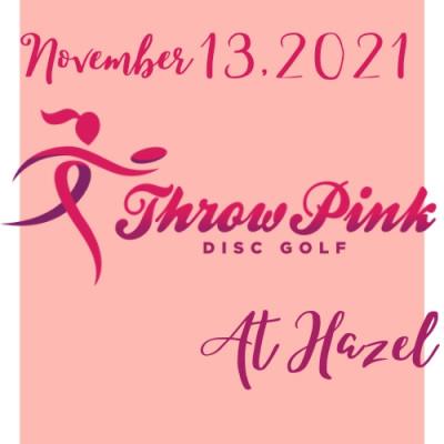 Throw Pink at Hazel logo