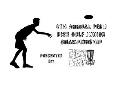 4th Annual Peru Disc Golf Junior Championship presented by Fairway Discs logo